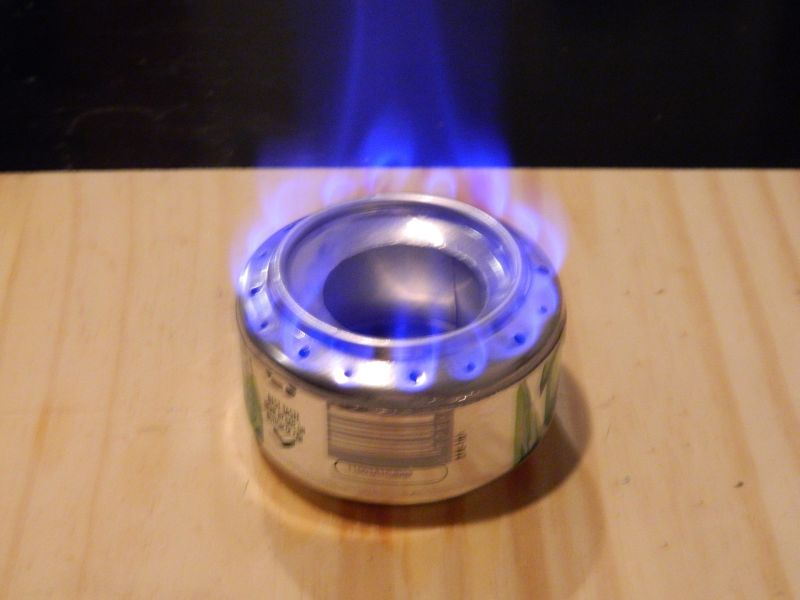 soda can alcohol stove