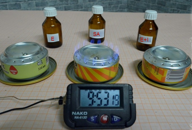 Diy Alcohol Stove 8 Steps With Pictures Fuel Test