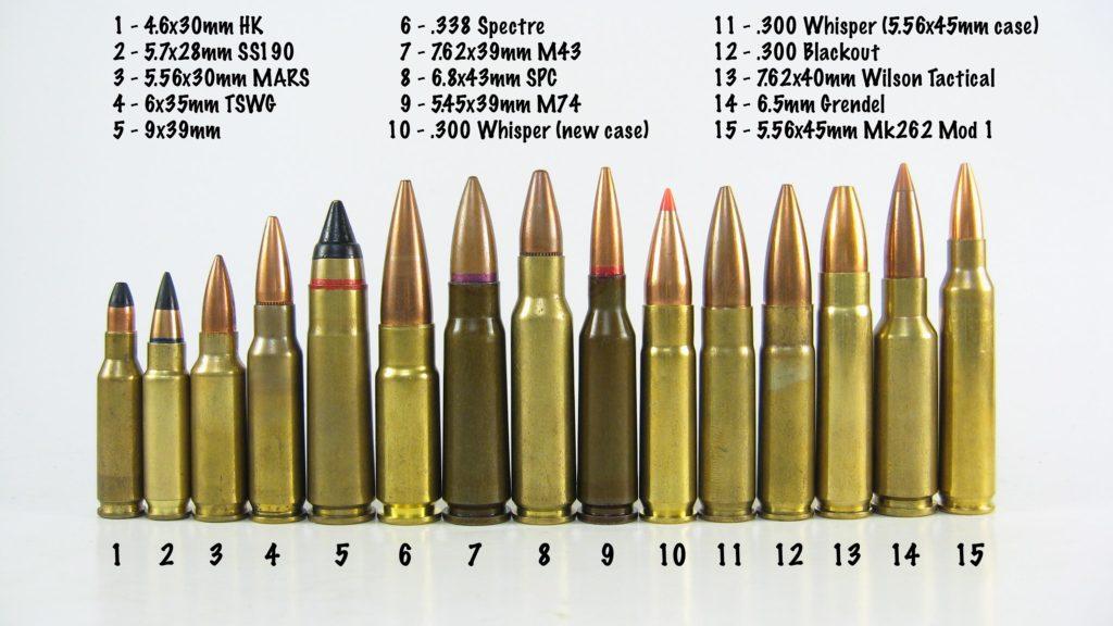 ar15 calibers