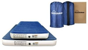 TYPES OF AIR MATTRESSES FOR CAMPING