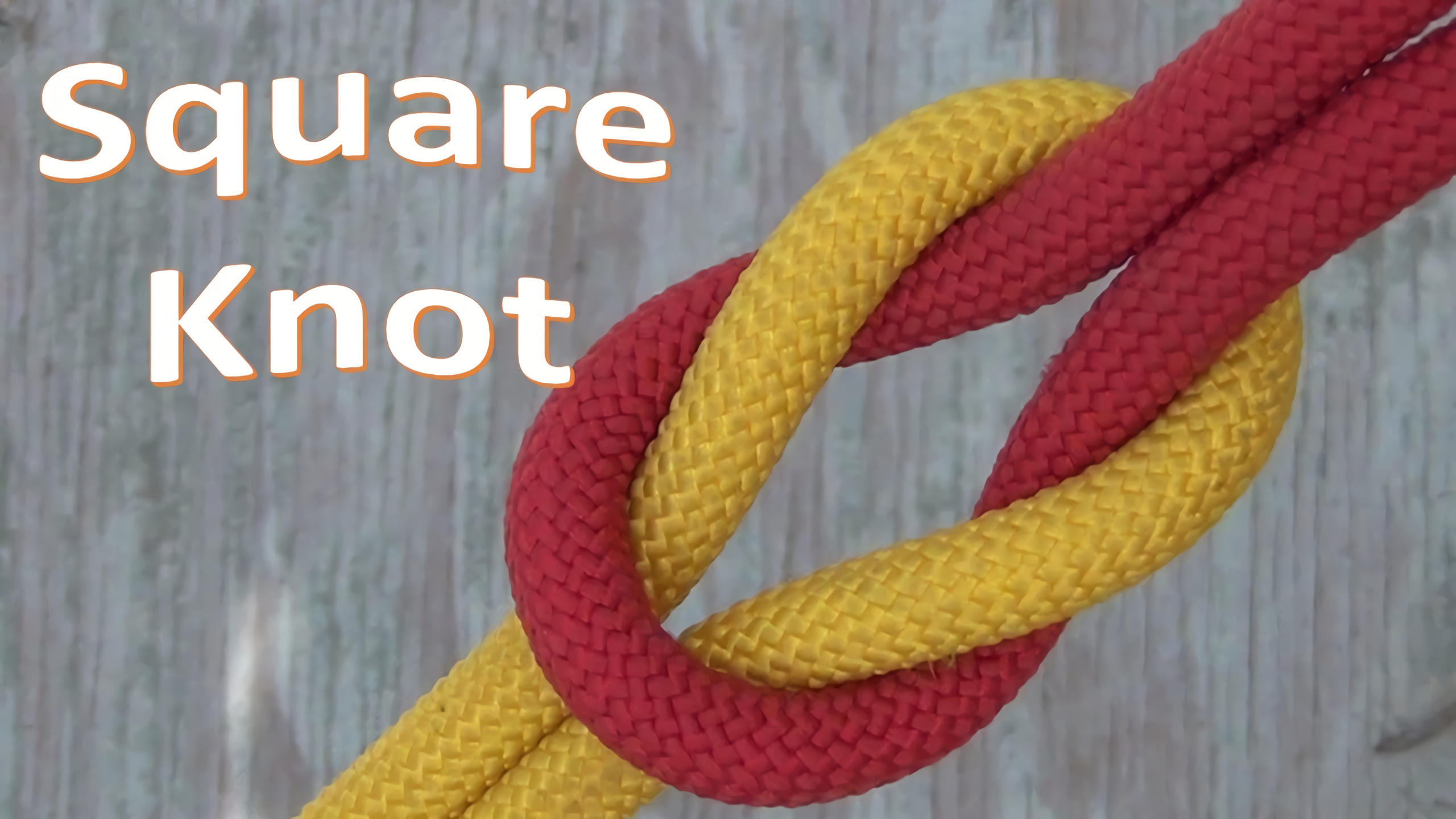 this is what a square knot looks like