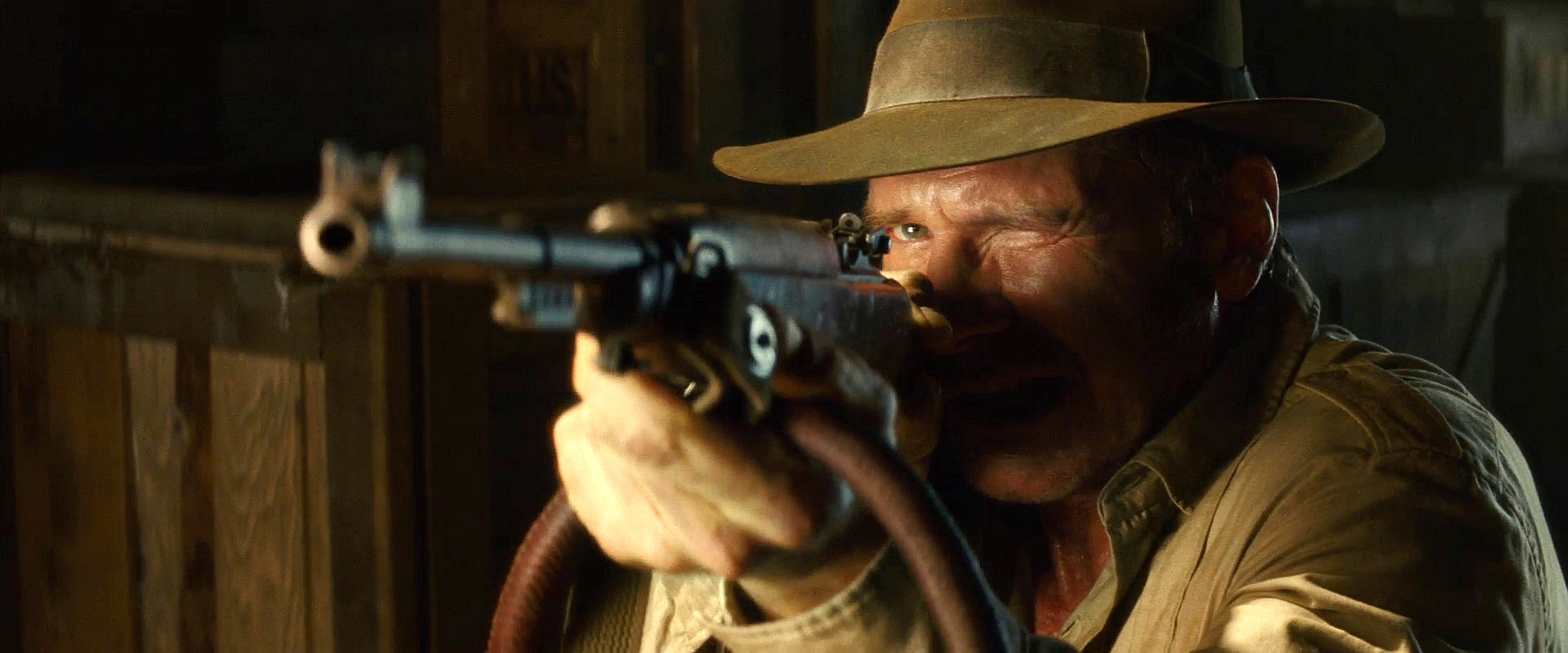 universal m1 carbine Indiana Jones and the Kingdom of the Crystal Skull
